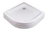 Ronda-80 PU PU белаяДушевые поддоны<br>PU - это высокий армированный полиуретаном поддон, который предназначен для установки на пол готовой ванной комнаты. Отверстие для сифона имеет диаметр 90 мм.<br>