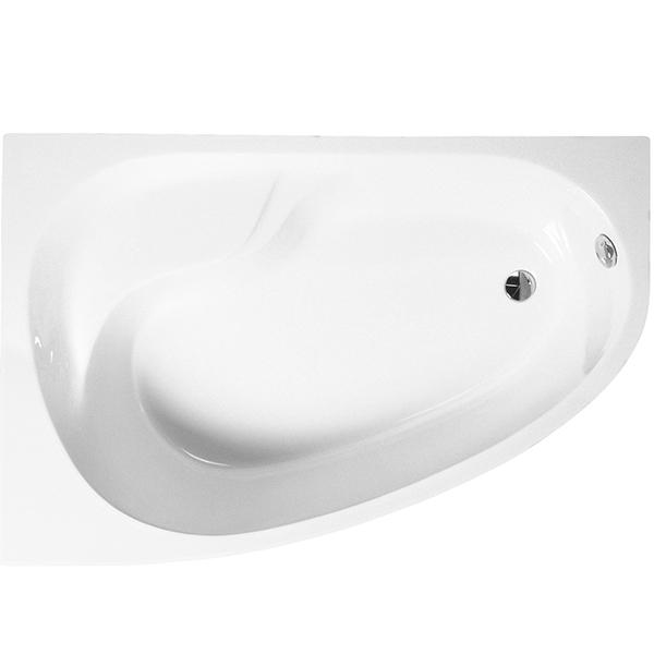 Nysa 150x100 L без гидромассажаВанны<br>Угловая акриловая ванна Vitra Nysa Offset 150x100 50790001000 асимметричная, для установки в левый угол, с удобным наклоном для спины, с отлитым сиденьем, с широкими бортиками.<br>Материал: полнолитьевой акриловый лист Lucite.<br>Армирующий слой для усиления.<br>Дно и края усилены панелями из МДФ.<br>Акрил быстро нагревается и долго сохраняет тепло. <br>Гладкая и теплая на ощупь поверхность.<br>Обработка поверхности VitrAhygiene: высокий уровень гигиены.<br>Антискользящее покрытие VitrAantislip: обеспечение безопасности.<br>Шесть точек опоры: тестировочная нагрузка 150 кг.<br>Износостойкость и прочность в сочетании с малым весом.<br>Эффективное звукопоглощение. <br>Простота в уходе. <br>Расположение слива: в ногах. <br>Диаметр сливного отверстия: 5,2 см. <br><br>В комплекте поставки:<br>чаша ванны.<br><br>
