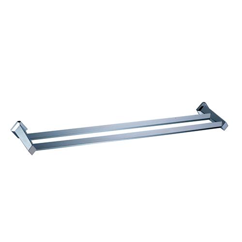 Aller K-1140 ХромАксессуары для ванной<br>Wasser Kraft Aller K-1140 штанга для полотенец двойная. Цвет: Хром. Для изготовления штанги используется металл; Хромоникелевое покрытие (устойчиво к потускнению, легко очищается и придает аксессуарам зеркальный блеск); Уплотнительные пластиковые кольца (необходимы для плотного и бесшумного соединения, металла и стекла).<br>
