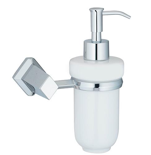 Aller K-1199C ХромАксессуары дл ванной<br>Wasser Kraft Aller K-1199С дозатор дл жидкого мыла, 160 мл. Цвет: Хром. Дл изготовлени дозатора используетс металл (носик дозатора изготовлен из латуни, не подвержен коррозии и предназначен дл использовани в помещених с повышенной влажность. Дозирущий клапан выдерживает 50 000 рабочих циклов (нажатий). Хромоникелевое покрытие, устойчивое к потускнени, легко очищаетс и придает аксессуарам зеркальный блеск.Уплотнительные пластиковые кольца из металла и стекла предназначены дл надежного соединени.Белоснежна керамика.<br>