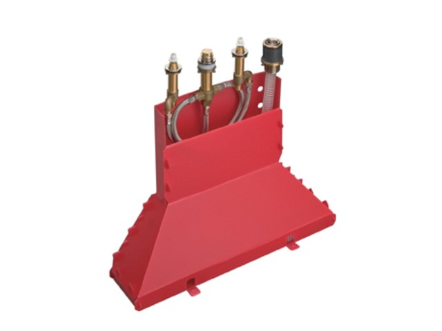13444180 для ванныСмесители<br>Скрытая часть для смесителя на край ванны. В комплекте поставки: скрытая часть, шланговая гарнитура Secuflex, Secubox, максимальное вытяжение шланга 1,10 м.<br>