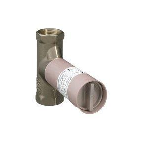 Ecostat 15974180 керамикаСмесители<br>Скрытая часть. Расход воды 40 л/мин, уплотнительная манжета, подходит для всех наружных частей запорного вентиля.<br>