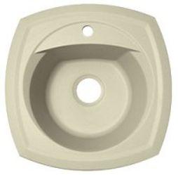 Корсика Бежевая        бежевая FGКухонные мойки<br>Florentina Корсика врезная мойка для кухни в бежевом цвете. FG (Florengran) - материал на основе метакрилированной полиэфирной смолы и очень высокого содержания кварца и гранита (75 %). Обладает высокой устойчивостью к ударам, механическим нагрузкам, истиранию, химическим реактивам и термоударам.<br>Мойка с отверстием под смеситель, диаметр сливного отверстия: 3,5 (OKG), диаметр чаши: 400 мм., глубина чаши: 200 мм., подходит для прямого шкафа шириной 450 мм.<br>