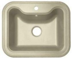 Крит-630 Бежевая бежевая FGКухонные мойки<br>Florentina Крит-630 врезная мойка для кухни в бежевом цвете. FG (Florengran) - материал на основе метакрилированной полиэфирной смолы и очень высокого содержания кварца и гранита (75 %). Обладает высокой устойчивостью к ударам, механическим нагрузкам, истиранию, химическим реактивам и термоударам.<br>Диаметр сливного отверстия: 3,5 (OKG), длина чаши: 515 мм., глубина чаши: 200 мм., подходит для прямого шкафа шириной 600 мм.<br>