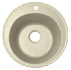 Никосия Бежевая бежевая FGКухонные мойки<br>Florentina Никосия врезная мойка для кухни в бежевом цвете. FG (Florengran) - материал на основе метакрилированной полиэфирной смолы и очень высокого содержания кварца и гранита (75 %). Обладает высокой устойчивостью к ударам, механическим нагрузкам, истиранию, химическим реактивам и термоударам.<br>Диаметр сливного отверстия: 3,5 (OKG), диаметр чаши: 400 мм., глубина чаши: 200 мм., подходит для прямого шкафа шириной 450 мм.<br>
