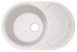 Родос-760 Жасмин жасмин FSКухонные мойки<br>Florentina Родос-760 врезная мойка для кухни в цвете жасмин. FS (Florensil) - новейший композиционный материал на основе измельчённых кварцев различной природы и особо прочногосвязующего полимера. Обладает мелкой, шелковистой на ощупь структурой.<br>Диаметр сливного отверстия: 3,5 (OKG), диаметр чаши: 440 мм., глубина чаши: 200 мм., подходит для прямого шкафа шириной 500 мм.<br>