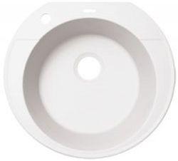 Эльба Жасмин жасмин FSКухонные мойки<br>Florentina Эльба врезная мойка для кухни в цвете жасмин. FS (Florensil) - новейший композиционный материал на основе измельчённых кварцев различной природы и особо прочногосвязующего полимера. Обладает мелкой, шелковистой на ощупь структурой. <br>Диаметр сливного отверстия: 3,5 (OKG), диаметр чаши: 430 мм., глубина чаши: 200 мм., подходит для прямого шкафа шириной 500 мм.<br>