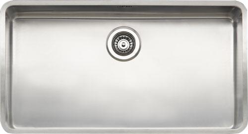 Kansas Large стальнаяКухонные мойки<br>Reginox Kansas Large цельнотянутая мойка из нержавеющей стали. <br>Поверхность мойки: полировка, тип установки: интегрированная. <br>Диаметр сливного отверстия: 3,5 (OKG), длина чаши: 800 мм., ширина чаши: 420 мм., глубина чаши: 250 мм. <br>Ширина шкафа: 900 мм.<br>