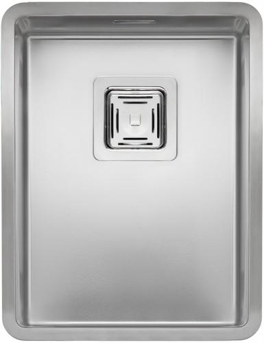 Texas 30x40  стальнаяКухонные мойки<br>Reginox Texas 30x40 цельнотянутая мойка из нержавеющей стали с радиусом углов чаши 10 мм.<br>Поверхность мойки: полировка, тип установки: интегрированная, перелив расположен в чаше.<br>Диаметр сливного отверстия: 3,5 (OKG),  длина выреза под мойку: 300 мм., ширина выреза под мойку: 400 мм., длина чаши: 300 мм., ширина чаши: 400 мм., глубина чаши: 200 мм.<br>Толщина стали 1,2 мм.<br>Ширина шкафа: 400 мм.<br>