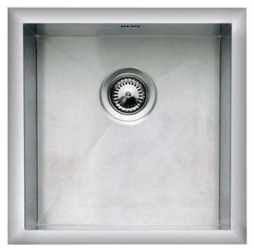 Ontario 45X40 стальнаяКухонные мойки<br>Reginox Ontario 45x40 кухонная мойка из нержавеющей стали. Выполнена методом сверхточной лазерной сварки.<br>Поверхность мойки: полировка, тип установки: интегрированная, перелив расположен в чаше.<br>Диаметр сливного отверстия: 3,5 (OKG),  длина чаши: 450 мм., ширина чаши: 400 мм., глубина чаши: 190 мм.<br>Толщина стали 1,2 мм.<br>Ширина шкафа: 500 мм.<br>