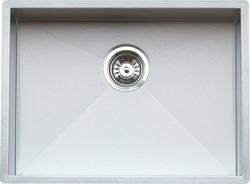 Ontario Medium стальнаяКухонные мойки<br>Reginox Ontario Medium кухонная мойка из нержавеющей стали. Выполнена методом сверхточной лазерной сварки.<br>Поверхность мойки: полировка, тип установки: интегрированная, перелив расположен в чаше.<br>Диаметр сливного отверстия: 3,5 (OKG), длина выреза под мойку: 500 мм., ширина выреза под мойку: 400 мм., длина чаши: 500 мм., ширина чаши: 400 мм., глубина чаши: 190 мм.<br>Толщина стали 1,2 мм.<br>Ширина шкафа: 600 мм.<br>