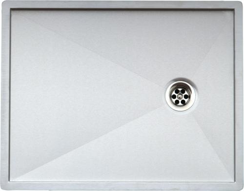 Ontario Flat  стальнаяКухонные мойки<br>Reginox Ontario Flat  кухонная мойка из нержавеющей стали. Выполнена методом сверхточной лазерной сварки.<br>Поверхность мойки: полировка, тип установки: интегрированная, перелив расположен в чаше.<br>Диаметр сливного отверстия: 3,5 (OKG), длина выреза под мойку: 540 мм., ширина выреза под мойку: 420 мм., длина чаши: 520 мм., ширина чаши: 440 мм., глубина чаши: 20 мм.<br>Толщина стали 1,2 мм.<br>Ширина шкафа: 600 мм.<br>
