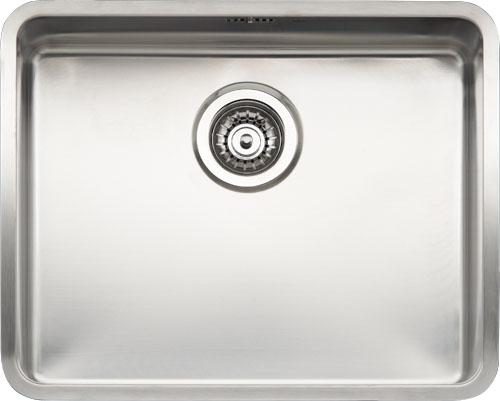 Ohio Medium  стальнаяКухонные мойки<br>Reginox Ohio Medium цельнотянутая мойка из нержавеющей стали.<br>Поверхность мойки: полировка, тип установки: интегрированная, перелив расположен в чаше.<br>Диаметр сливного отверстия: 3,5 (OKG), длина выреза под мойку: 520 мм., ширина выреза под мойку: 420 мм., длина чаши: 500 мм., ширина чаши: 400 мм., глубина чаши: 200 мм.<br>Толщина стали 1,2 мм.<br>Ширина шкафа: 600 мм.<br>