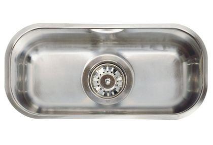 L18 4018 полированнаяКухонные мойки<br>Reginox L18 4018 мойка из нержавеющей стали, интегрированная модель.<br>Поверхность полированная. Подходит для шкафа шириной: 400 мм.<br>Сливное отверстие &amp;#216; 3,5(OKG) , перелив в чаше.<br>Без отверстия под смеситель.<br>Габаритные размеры: 424 x 204 мм.<br>Размеры выреза под мойку: 404 x 184 мм.<br>Размеры чаши: 400 x 180 мм.<br>Глубина чаши: 130 мм.<br>