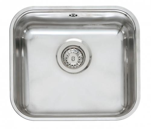 Colorado полированнаяКухонные мойки<br>Reginox Colorado врезная мойка из нержавеющей стали.<br>Поверхность полированная.<br>Подходит для шкафа шириной 450 мм.<br>Сливное отверстие &amp;#216; 3,5 (OKG), перелив в чаше.<br>Без отверстия под смеситель.<br>Габаритные размеры: 445 x 393 мм.<br>Размеры выреза под мойку: 425 x 373 мм.<br>Размеры чаши: 402 x 353 мм.<br>Глубина чаши: 160 мм.<br>Толщина стали: 0,9 мм.<br>