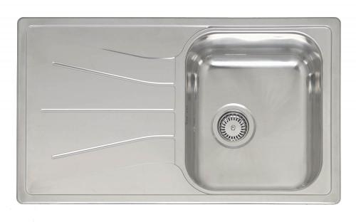 Diplomat 10 Lux  полированнаяКухонные мойки<br>Reginox Diplomat 10 Lux  врезная мойка из нержавеющей стали.<br>Поверхность полированная.<br>Подходит для шкафа шириной 400 мм.<br>Без отверстия под смеситель.<br>Сливное отверстие &amp;#216; 3,5(OKG), перелив в чаше.<br>Габаритные размеры: 860 x 500 мм.<br>Размеры выреза под мойку: 840 x 480 мм.<br>Размеры чаши: 360 x 420 мм.<br>Глубина чаши: 180 мм.<br>Толщина стали: 0,9 мм.<br>