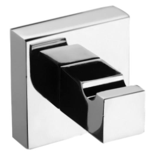 Wolo WO500401 Хром глянцевыйАксессуары для ванной<br>Одинарный крючок для полотенец Webert Wolo WO500401015 настенный в ванную.<br><br>Материал: высококачественная латунь.<br>Покрытие: глянцевый хром.<br>Размеры: 5 x 4,9 x 5 см.<br><br>