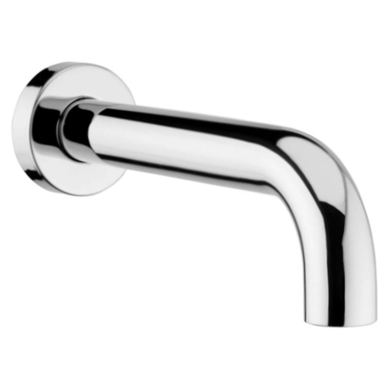 Elio AC0371 Хром глянцевыйСмесители<br>Фиксированный излив для встраиваемого смесителя для ванны Webert Elio AC0371015 с аэратором.<br><br>Покрытие: глянцевый хром.<br>Материал: качественная латунь с минимальным процентом свинца: &amp;lt;0.2%.<br>Защита от царапин, влаги и воздействия окружающей среды.<br>Состав материала соответствует международным нормам.<br>Длина излива: 19 см.<br>Стандарт подключения G1/2.<br><br>