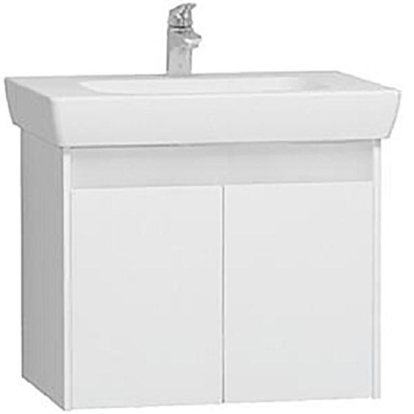 Step 65 подвесная Белая глянцеваяМебель для ванной<br>Тумба с раковиной подвесная Vitra Step 55993.<br>Современный и универсальный стиль тумбы дополнит интерьер любой ванной комнаты.<br>Размер: 65х46х48 см, размер раковины: 41,5х57 см.<br>В комплекте поставки: <br>тумба,<br>раковина 65 см 5522B003-0001 с переливом.<br>