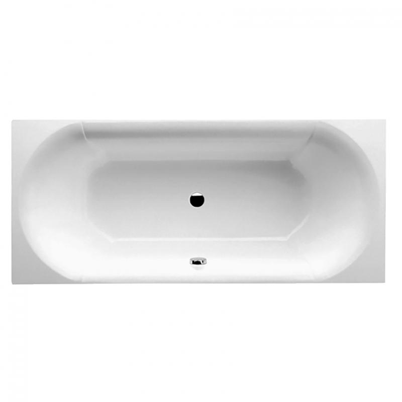 Квариловая ванна Villeroy&Boch Pavia 180x80 UBQ180PAV2V-01 с душевым гарнитуром 27728000 Белая UBQ180PAV2V-01+27728000