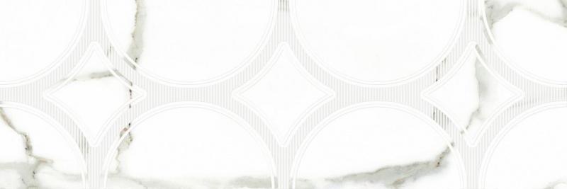 Керамическая плитка Undefasa Royal Gold Gloss Decorado Rosendal настенная 25х75 см
