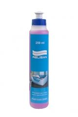 Professional 250 мл.Комплектующие<br>Relisan Professional. Средство для удаления жировых отложений и известкового налета в гидромассажных системах ванн. Содержащиеся в средстве дезинфицирующие вещества на месте нанесения предотвращают рост и убивают грибки, бактерии.  Удаляет минеральные отложения и  мочевой камень.<br>