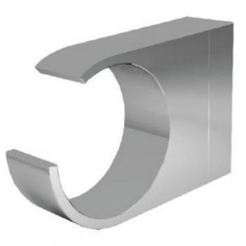 Admire A1035500 ХромАксессуары для ванной<br>Крючок для полотенец Admire A1035500 из монолитной латуни марки Grade-AH59. Цвет хром.<br>
