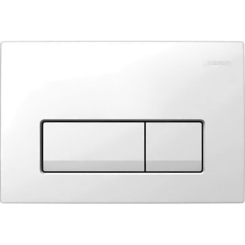 Delta 51 115.105.11.1 БелаяИнсталляции<br>Клавиша смыва Geberit Delta 51 115.105.11.1 для работы с инсталляцией или с бачком скрытого монтажа для унитаза.<br><br>Цвет: белый.<br>Материал: пластик.<br>Установка: фронтальная.<br>Управление: механическое.<br>Для систем двойного смыва.<br>Размеры: 24,6 x 16,4 x 2,6 см.<br><br>В комплекте поставки:<br><br>Кнопка смыва.<br>Монтажная рамка.<br>Толкатели привода смыва.<br>Крепежные элементы.<br><br>