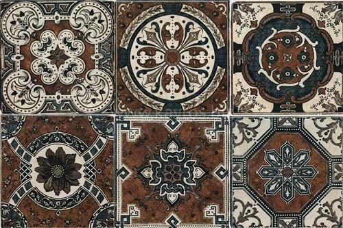Керамическая плитка Mainzu Bolonia Decor Socarrat настенная 20х20 керамическая плитка alaplana limerick bone mate настенная 20x60см