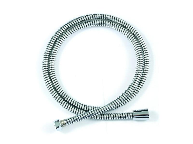 P7232CP-1-RUS ХромДушевые гарнитуры<br>Шланг для душа Bravat P7232CP-1-RUS.<br>Дизайн: современный стиль. <br>Материал : PVC/ металлическая обмотка.<br>Длина шланга: 200 см. <br>Стандарт подводки: 1/2.<br>Исполнение шланга: армированный(витой) с защитой от перекручивания.<br>Цвет : хром. <br>