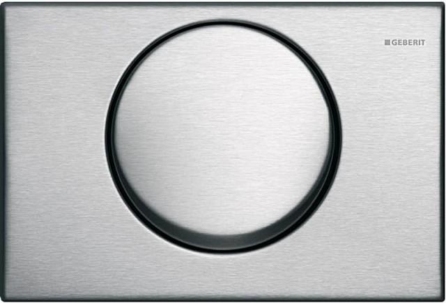 Mambo 115.751.00.1 Нержавеющая стальИнсталляции<br>Одинарный смыв, для фронтальной установки, для бачков скрытого монтажа и инсталляций. Цвет: нержавеющая сталь.<br>