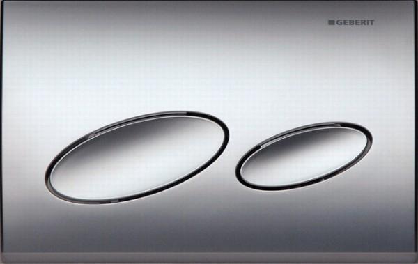Kappa 20 115.228.46.1 Хром матовыйИнсталляции<br>Двойной смыв, для фронтальной и горизонтальной установки, для бачков скрытого монтажа и инсталляций. Цвет: хром матовый.<br>
