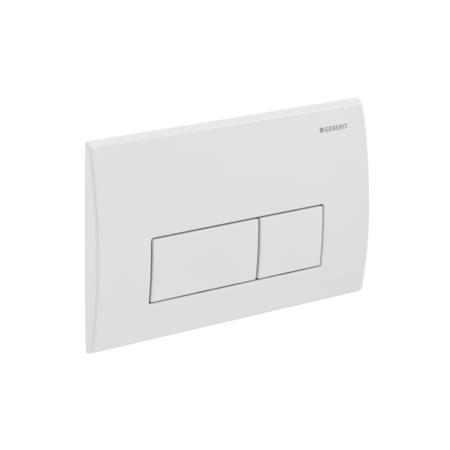 Kappa 50 115.260.11.1 БелыйИнсталляции<br>Двойной смыв, для фронтальной и горизонтальной установки, для бачков скрытого монтажа и инсталляций. Цвет: белый.<br>