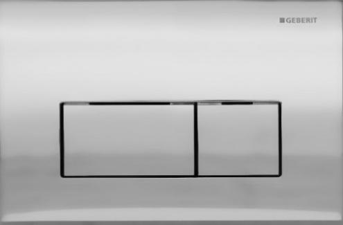 Kappa 50 115.260.46.1 Хром матовыйИнсталляции<br>Двойной смыв, для фронтальной и горизонтальной установки, для бачков скрытого монтажа и инсталляций. Цвет: хром матовый.<br>