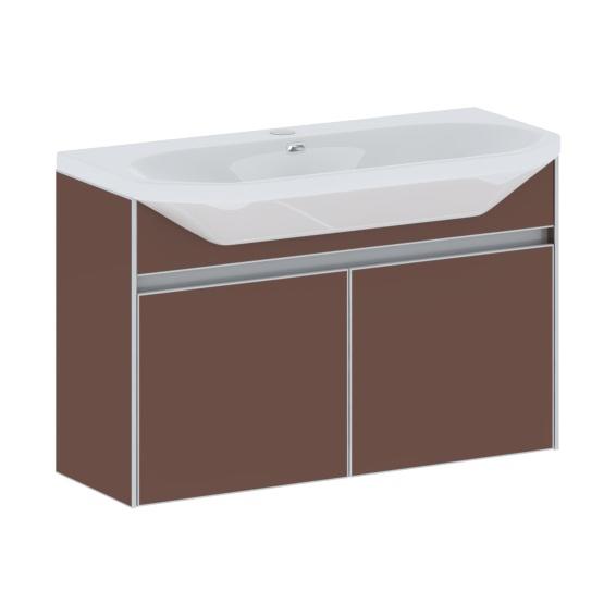 STILUS 80 подвесная СиняяМебель для ванной<br>Тумба комплектуется раковиной FUSION  (SWISS Design)<br>
