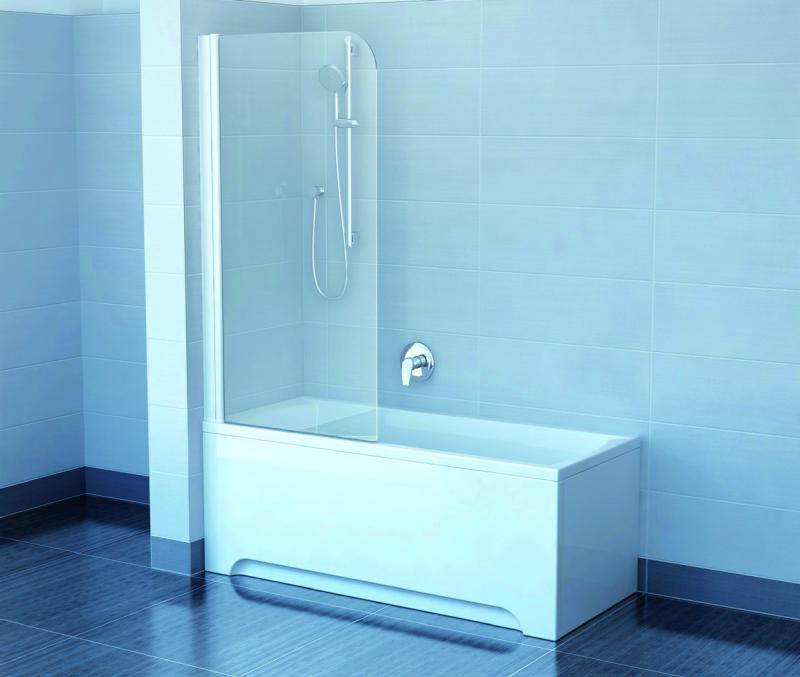 EVS1-75 transparent RДушевые ограждения<br>Шторка для ванны Ravak EVS1-75 R. Профиль хром, стекло transparent.<br>
