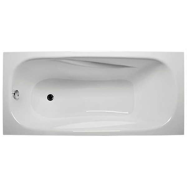 Акриловая ванна 1MarKa Classic 170х70 с гидромассажем Intense