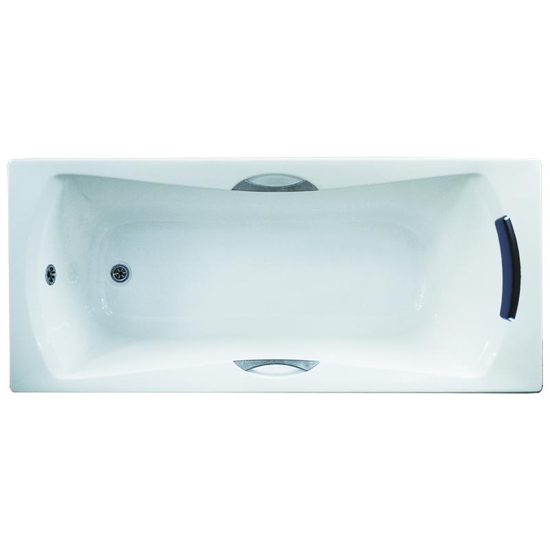 Акриловая ванна 1MarKa Agora 170x75 без гидромассажа ванна из искусственного камня jacob delafon elite 170x75 с щелевидным переливом e6d031 00 без гидромассажа