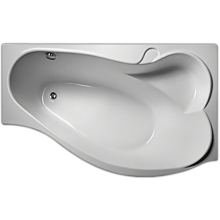 Акриловая ванна Marka One Gracia 160х95 L с гидромассажем Optimal акриловая ванна marka one gracia 170х100 l с гидромассажем optimal