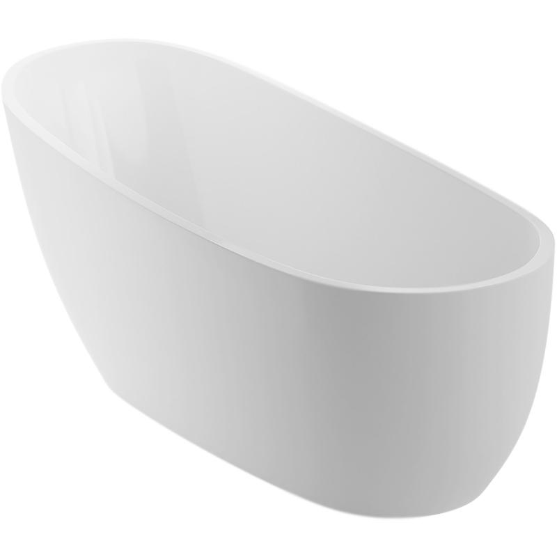 Comfort+ 175x75 Белая/белаяВанны<br>Отдельностоящая акриловая ванна овальной формы Excellent Comfort+ 175x75 на ножках с экраном и сливом-переливом. Для производства чаши используется цельный акриловый лист толщиной 4 мм, который придает прочность и легкость конструкции. В комплекте поставки Excellent Comfort+ ножки, фронтальная панель белого цвета и слив-перелив.<br>