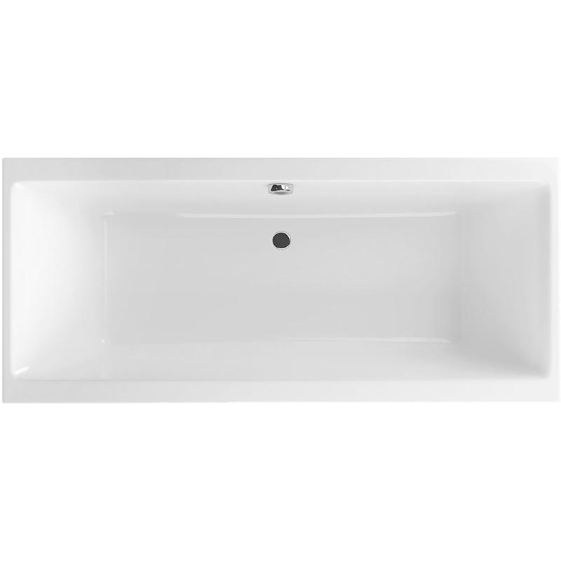 Pryzmat 190 БелаяВанны<br>Акриловая прямоугольная ванна Excellent Pryzmat 190.<br>