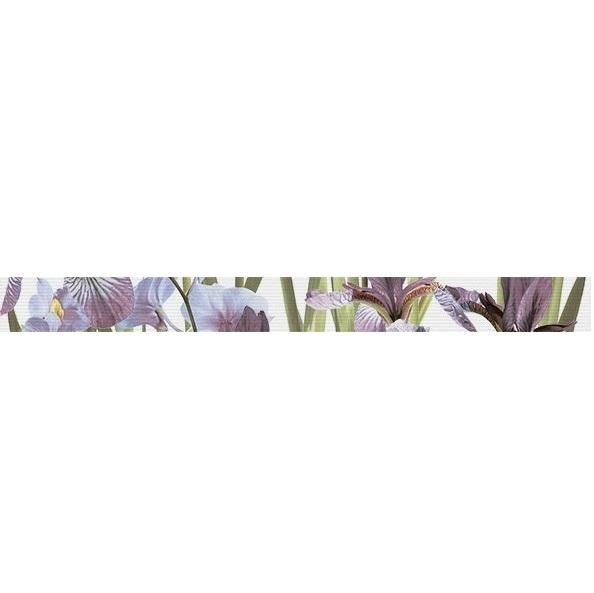 цена на Керамический бордюр Керамин Ирис 00-00003881 4,7х50 см