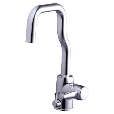 Alessi 8535F Alessi 8535FСмесители<br>Смеситель для кухни Oras Alessi 8535F, однорычажный. Клапан для посудомоечной машины, гибкая подводка, поворотный излив с углом поворота 110, 85 или 60 градусов, расход воды 13 л/мин.<br>