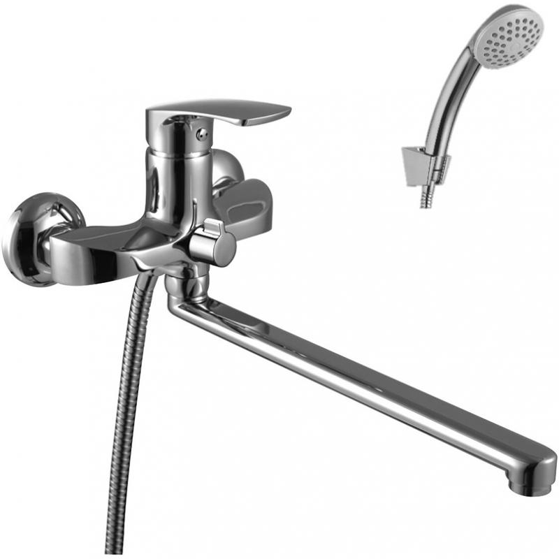 Смеситель для ванны Lemark Plus Shape LM1751C универсальный Хром