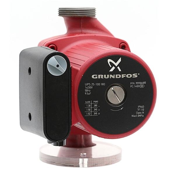 Циркуляционный насос Grundfos UPS 25-100 180 - фото
