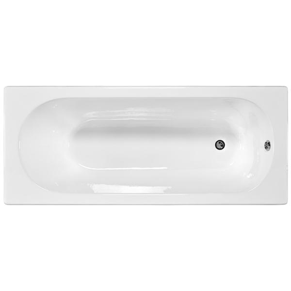 Nathalie 170x70 без антискользящего покрытияВанны<br>Чугунная ванна Jacob Delafon Nathalie 170x70.<br>Изящный дизайн ванны совмещен с функциональностью и удобством. Универсальный стиль этой модели дополнит интерьер большинства современных ванных комнат.<br>Изготовлена из чугуна - прочного и долговечного материала. Качественная эмаль устойчива к бытовым повреждениям, долго сохраняет первоначальный цвет и блеск.<br>Смягченные углы с внутренней стороны чаши ванны облегчают уход.<br>Плавный наклон спинки, повторяющий анатомические особенности тела человека.<br>Цвет: белый.<br>Монтаж: на ножках.<br>В комплекте поставки: чаша ванны.<br>