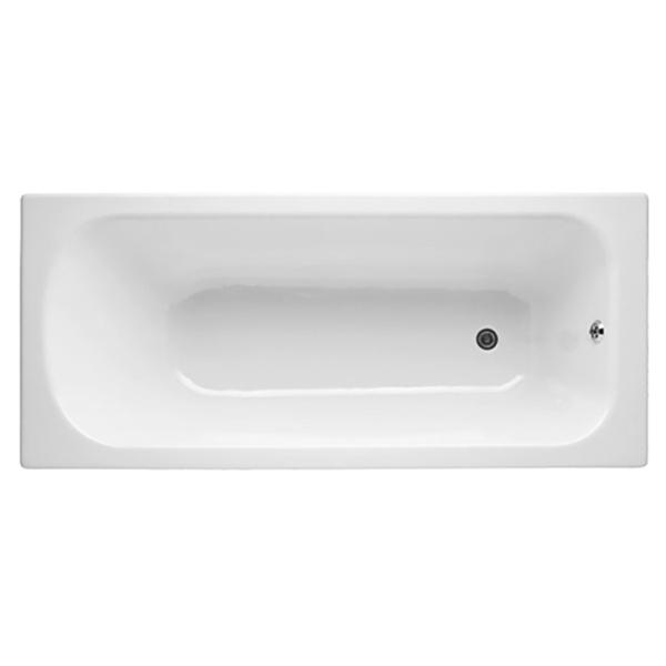 Catherine 170x75 без антискользящего покрытияВанны<br>Чугунная ванна Jacob Delafon Catherine 170x75 E2952-00.<br>Изящный дизайн ванны совмещен с функциональностью и удобством. Универсальный стиль этой модели дополнит интерьер большинства современных ванных комнат.<br>Изготовлена из чугуна - прочного и долговечного материала. Качественная эмаль устойчива к бытовым повреждениям, долго сохраняет первоначальный цвет и блеск.<br>Смягченные углы с внутренней стороны чаши ванны облегчают уход.<br>Плавный наклон спинки, повторяющий анатомические особенности тела человека. <br>Цвет: белый.<br>Монтаж: на ножках.<br>В комплекте поставки: чаша ванны.<br>