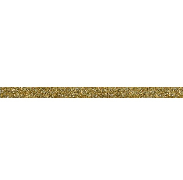Керамический бордюр ArtiCer Glitter Listello 32 Gold 1х200см