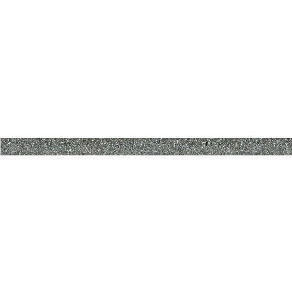 Керамический бордюр ArtiCer Glitter Listello1 Silver 1х200 см