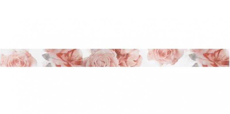 Керамический бордюр ArtiCer Floreale Onyx List. Bianco 1046715 5,8х72,5см стоимость
